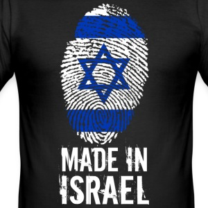 Fabriqué en Israël / Made in Israël מדינת ישראל - Tee shirt près du corps Homme