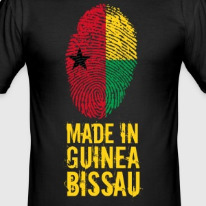 Made In Guinea Bissau / Guiné-Bissau - Men's Slim Fit T-Shirt