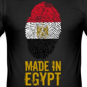 Tillverkad i Egypten / gjort i Egypten مصر - Slim Fit T-shirt herr