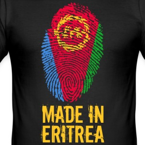 Made In Eritrea / ኤርትራ Ertra إرتريا Iritriyyā - Slim Fit T-shirt herr