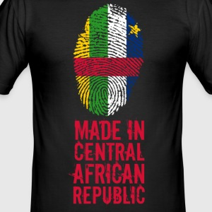 Made In Central African Republic - Männer Slim Fit T-Shirt