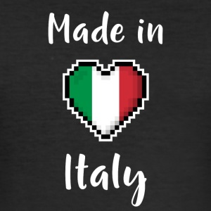 Made in Italy - Slim Fit T-shirt herr