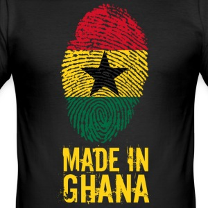 Made in Ghana / Gemacht in Ghana - Männer Slim Fit T-Shirt