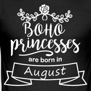 Boho Princesses are born in August - Men's Slim Fit T-Shirt