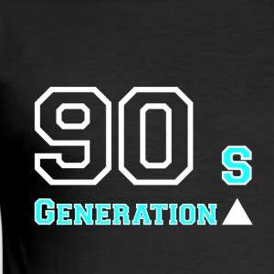 Generation90 - Slim Fit T-shirt herr