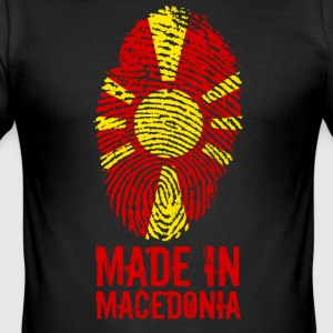 Made in Macedonia / Made in Macedonia - Maglietta aderente da uomo