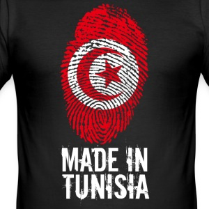 Made in Tunisia / Made in Tunisia تونس ⵜⵓⵏⴻⵙ - Men's Slim Fit T-Shirt