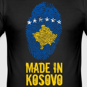 Made in Kosovo / Gemacht in Kosovo Kosova Kosovë - Männer Slim Fit T-Shirt