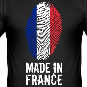 Made In France / Frankreich / République française - Männer Slim Fit T-Shirt