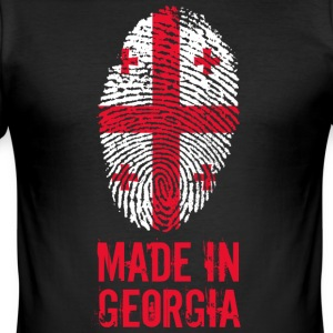 Fabriqué en Géorgie / Made in Georgia საქართველო - Tee shirt près du corps Homme