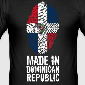 Made In République Dominicaine République Dominicaine - Tee shirt près du corps Homme