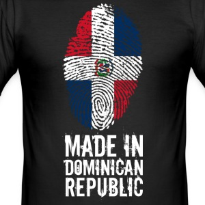 Made In Dominikanska republiken Dominikanska republiken - Slim Fit T-shirt herr