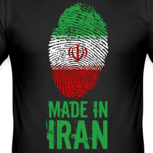 Made in Iran / Gemacht in Iran ايران Īrān Persien - Männer Slim Fit T-Shirt