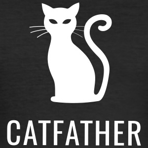 Chats - Catfather - Tee shirt près du corps Homme