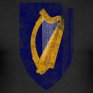 Irish Coat of Arms Ireland Symbol - Slim Fit T-shirt herr