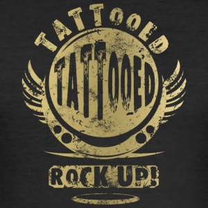 GETATOEËERD - GOLD - slim fit T-shirt