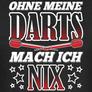 UTEN MIN DARTS MACH ICH NIX - Slim Fit T-skjorte for menn