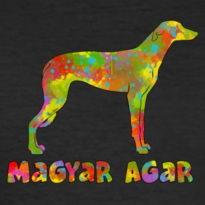 Magyar Agar Multicolor - Slim Fit T-skjorte for menn