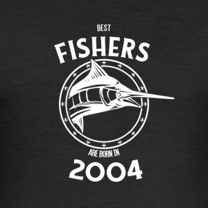 Present for fishers born in 2004 - Men's Slim Fit T-Shirt