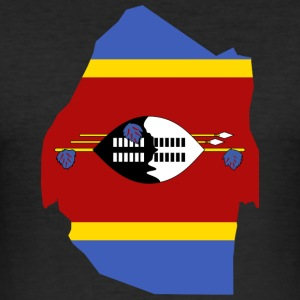 Swaziland samling - Slim Fit T-skjorte for menn