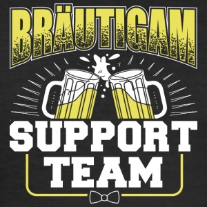 Bräutigam Support Team - Männer Slim Fit T-Shirt