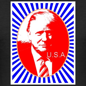trump_usa - Slim Fit T-shirt herr