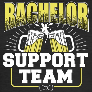 BACHELOR SUPPORT TEAM - Herre Slim Fit T-Shirt