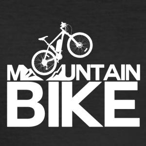 Mountainbike - mountainbike Passion! - Slim Fit T-shirt herr