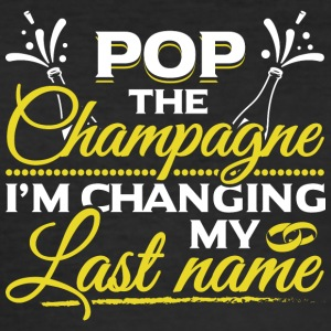 JGA - POP champagne ændre MY NAME - Herre Slim Fit T-Shirt