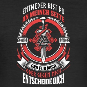 odin - Männer Slim Fit T-Shirt