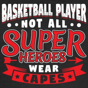 IKKE ALLE SUPER HEROES SLITASJE CAPES - BASKETBALL - Slim Fit T-skjorte for menn