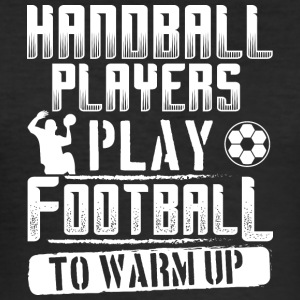 Handbal voetbal WARM UP - slim fit T-shirt