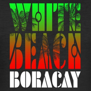 White Beach Boracay - slim fit T-shirt