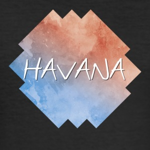 Havana - Havana - Slim Fit T-skjorte for menn