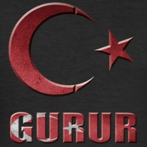 Gurur TURKEY Türkye PRIDE - Men's Slim Fit T-Shirt
