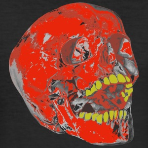 Skull Yellow tooth - Men's Slim Fit T-Shirt