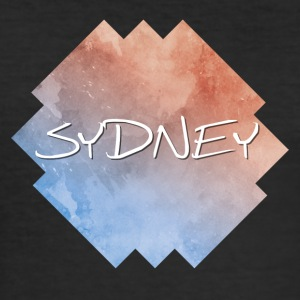 Sydney - Männer Slim Fit T-Shirt