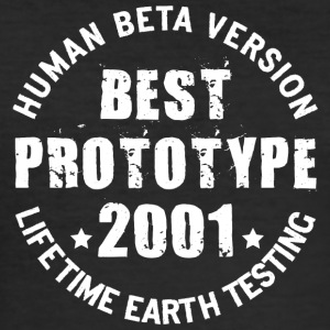 2001 - The birth year of legendary prototypes - Men's Slim Fit T-Shirt