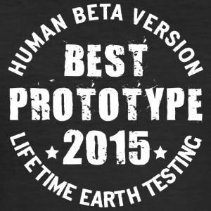 2015 - The birth year of legendary prototypes - Men's Slim Fit T-Shirt