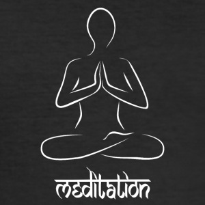meditation - Men's Slim Fit T-Shirt