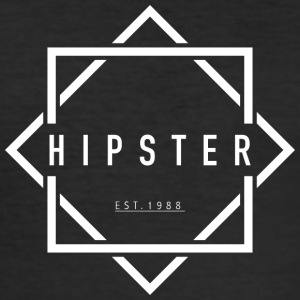 HIPSTER EST. 1988 - Men's Slim Fit T-Shirt