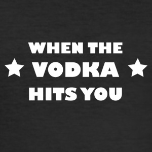 VODKA - Herre Slim Fit T-Shirt