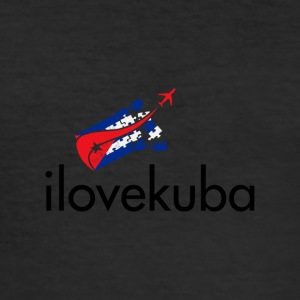 Ilovekuba - Slim Fit T-shirt herr