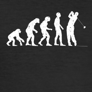 Evolution golf! - Herre Slim Fit T-Shirt