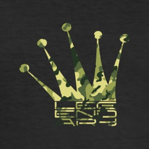 Legendary Crown - Camo Edition - Slim Fit T-shirt herr