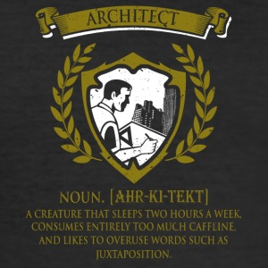 architect - Männer Slim Fit T-Shirt