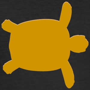 Real Swimming Sea Turtle - slim fit T-shirt