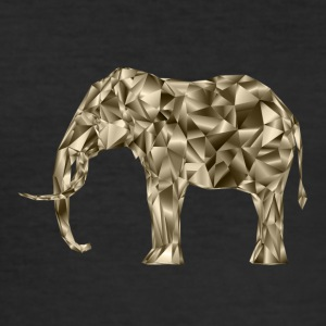 metall elefant - Slim Fit T-skjorte for menn