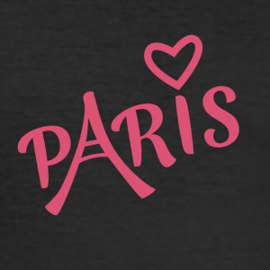 Kärlek i Paris - Slim Fit T-shirt herr