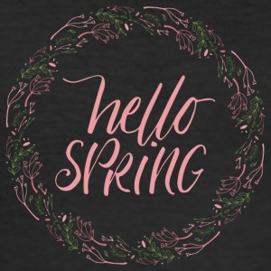 Spring Break / Springbreak: Hello Spring - Men's Slim Fit T-Shirt
